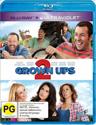 Grown Ups 2 2013 Dual Audio 300mb Free Download